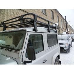Алюминиевый  багажник Land Rover Defender 90